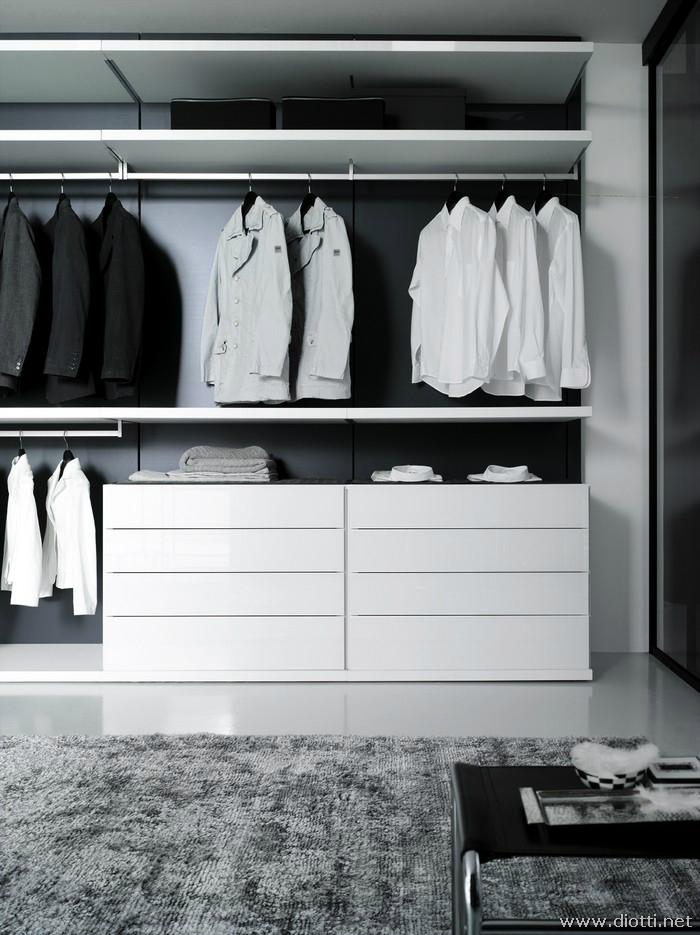Store cabina armadio boiserie diotti a f arredamenti - Cassettiera per cabina armadio ...