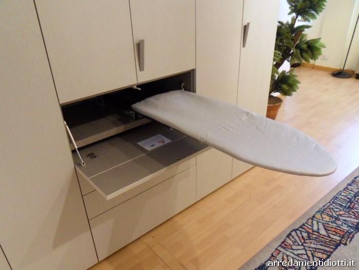 Armadio Lavanderia Stireria : L armadio che si trasforma in zona lavanderia stireria e