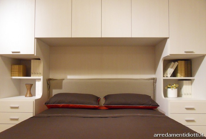 Letto Matrimoniale Incassato Nellarmadio : Letto nell armadio fabulous letto a scomparsa nell armadio letto