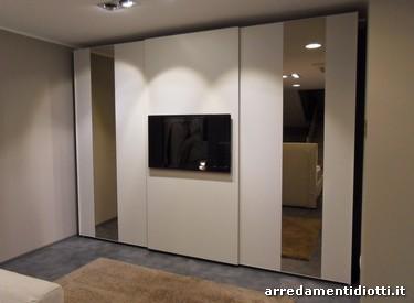 Armadio Con Scarpiera Integrata. Simple Totale Roomy Apertura Totale ...