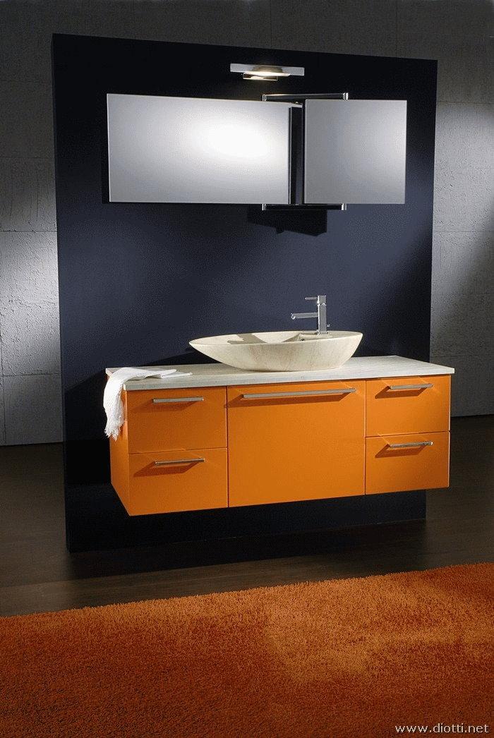 Osaka diotti a f arredamenti for Mobile bagno sospeso lavabo appoggio