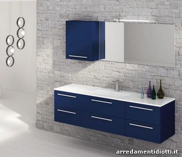 mobili bagno sospesi moderni bagno moderno linea squadrato diotti af arredamenti