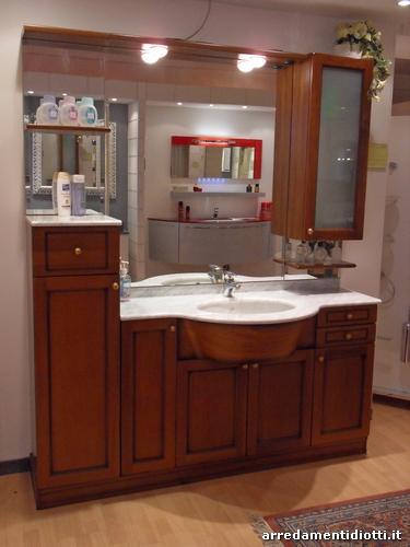 Mobile bagno classico in legno country diotti a f - Mobili bagno stile country ...