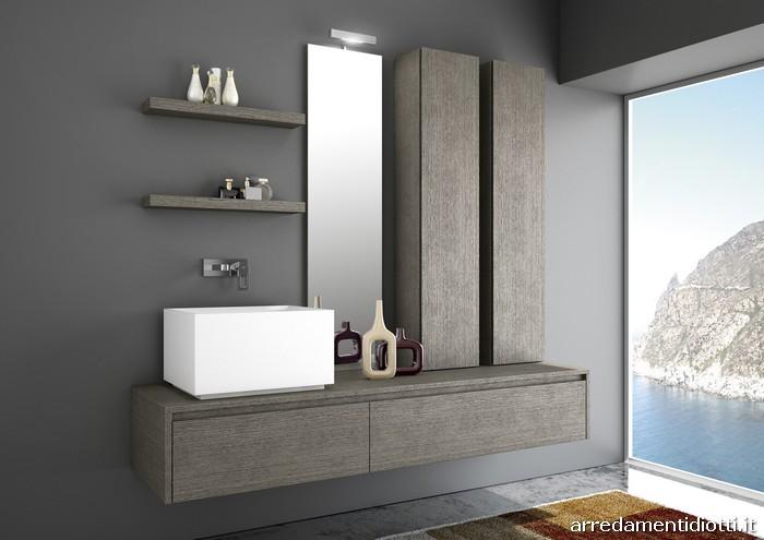 Piastrelle bagno grigio perla mobili bagno con piastrelle grigie