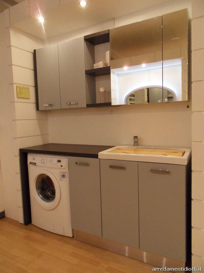 Mobili lavanderia per il bagno idea creativa della casa - Lavanderia bagno ...