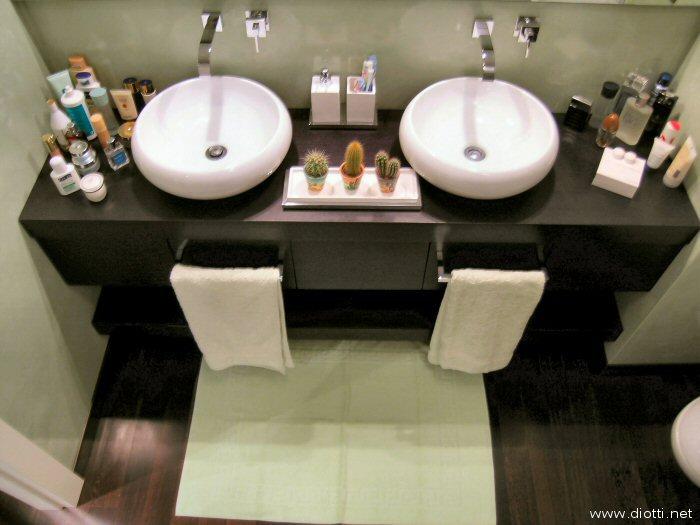 Bagni su misura a milano diotti a f arredamenti - Lavabi per mobili da bagno ...