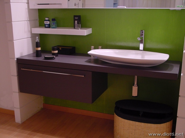 Mobili bagno globo waschtisch forty with mobili bagno globo simple i mobili e i sanitari per - Mobile bagno asimmetrico ...
