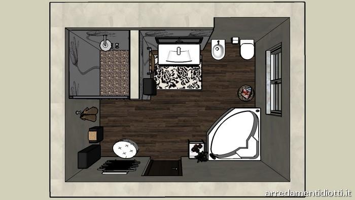 Metropolis diotti a f arredamenti - Creare un bagno ...