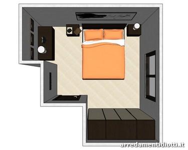 Camera ego e armadio segno battente diotti a f arredamenti - Sansevieria pianta in camera da letto ...