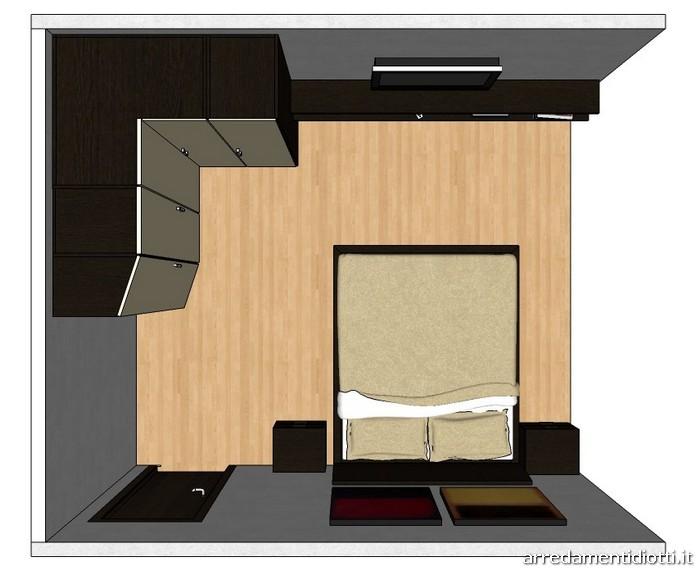 Quadras diotti a f arredamenti - Armadio angolare camera da letto ...