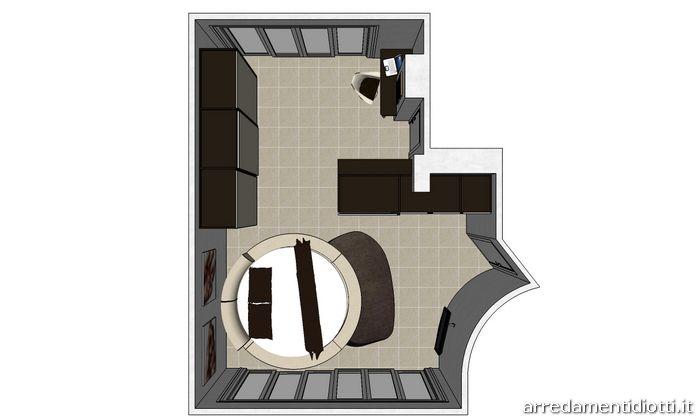 Miami diotti a f arredamenti - Camera da letto padronale ...
