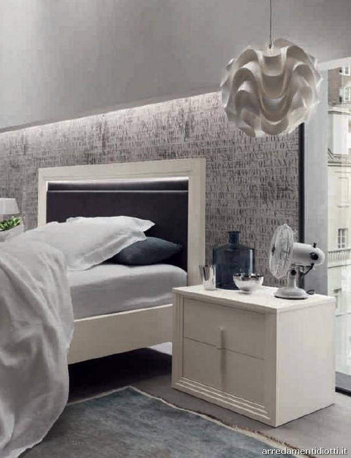 camera iride in stile classico rivisitato - diotti a&f arredamenti - Camere Da Letto Matrimoniali Vintage