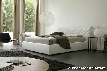 Letto glamour trapuntato diagonale diotti a f arredamenti - Camere da letto in pelle ...