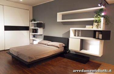 Camera quarantacinque matrimoniale componibile diotti a for Arredamento camera matrimoniale moderna