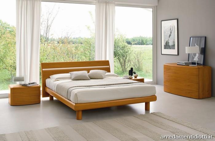 Letto in legno basic con gruppo letto drop e feeling for Sme arredamenti
