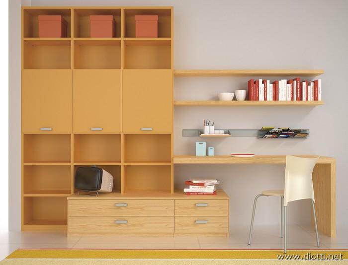 Young-cameretta-scrivania-mensole-contenitori-big