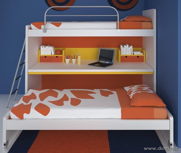 Young-cameretta-bambini-melaminico-bianco-letto-scorrevole-big
