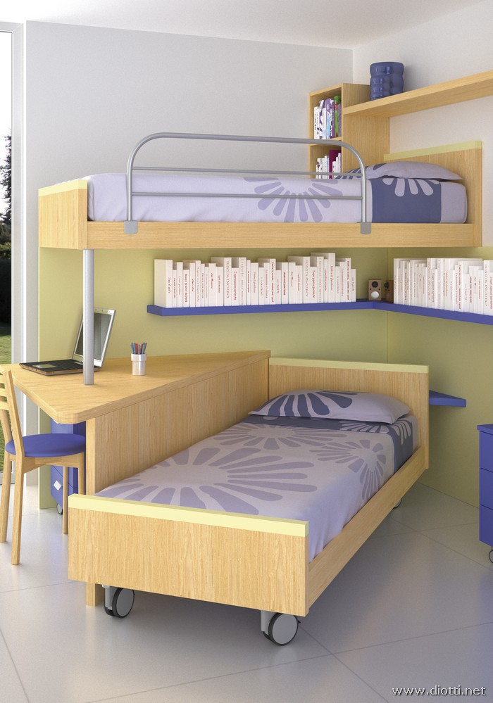 Loft Type Kids Rooms Diotti A Amp F Italian Furniture And