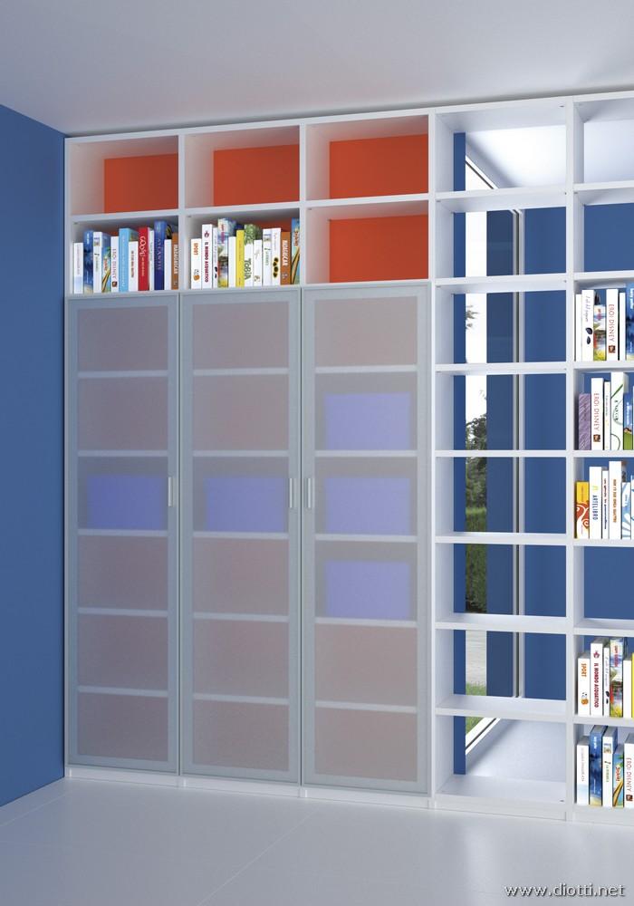 Young-cameretta-libreria-ante-vetro-bianca-big