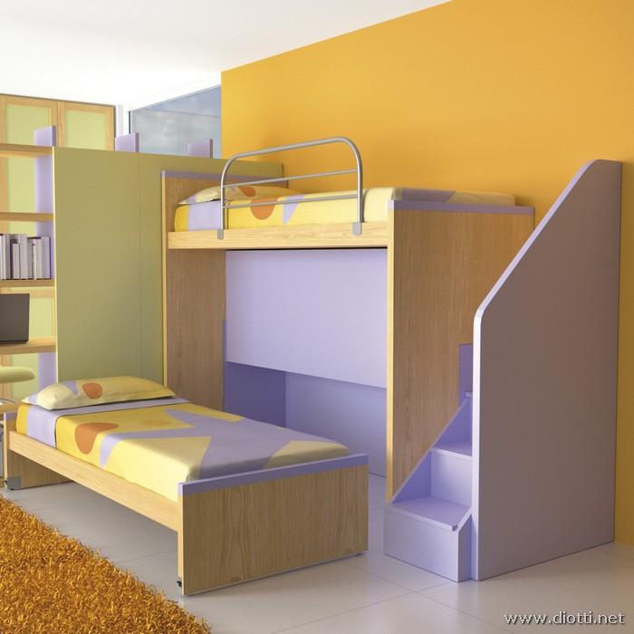 Casa moderna roma italy ikea camerette a soppalco - Ikea piumini letto bambini ...