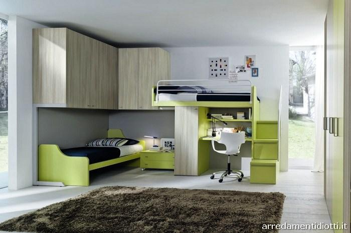 Seipersei perpendicular bunk beds 2