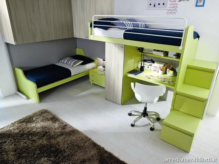 Seipersei perpendicular bunk beds 3