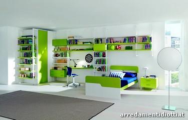 Librerie per camerette ragazzi best baffo libreria da for Librerie design scontate