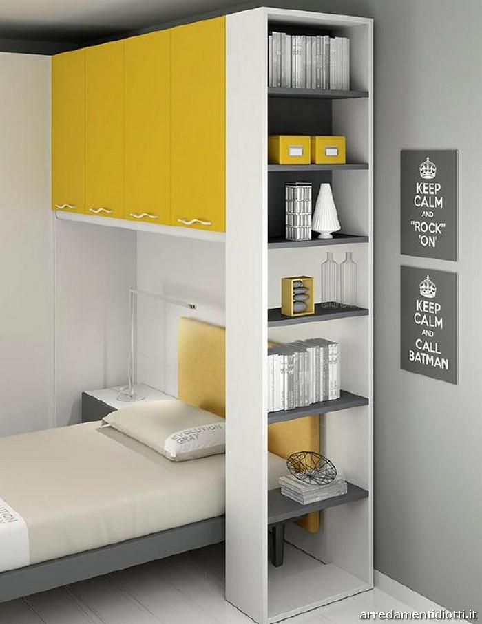 Camerette bambini colore pareti idea creativa della casa for Camerette design ragazzi