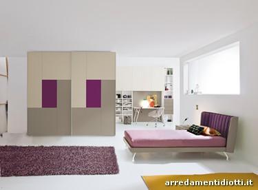 Armadi Colorati Letti A Castello Camerette Lilla Pictures to pin on ...