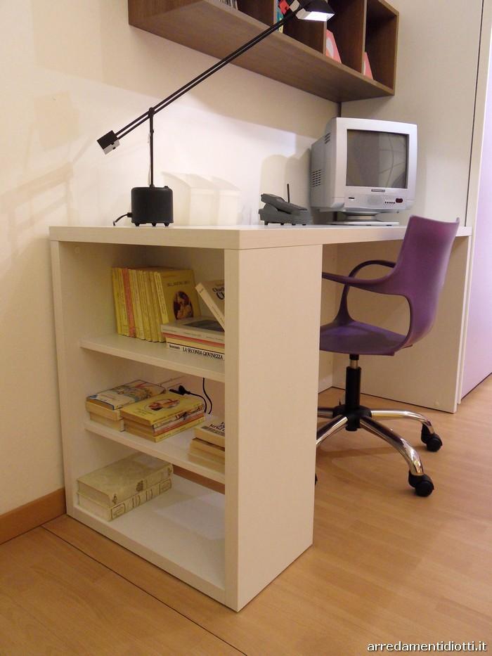 Mobili lavelli scrivania libreria per ragazzi - Scrivanie ikea camerette ...