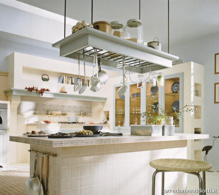 Cucina Moderna Con Isola Laccata Frida Cesar Pictures to pin on ...