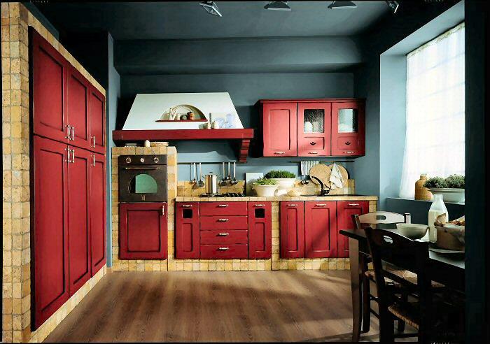 Arredamenti diotti a f il blog su mobili ed arredamento for Parete rossa soggiorno