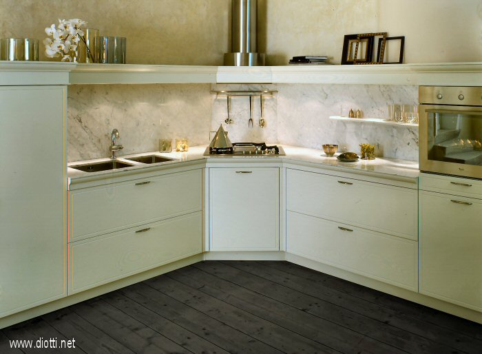 Cucine Moderne Ad Angolo Con Finestra. Simple Creo Kitchens Lube ...