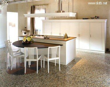 Forum ritorno a p 7 con la mia cucina for Pavimenti in graniglia e arredamento moderno