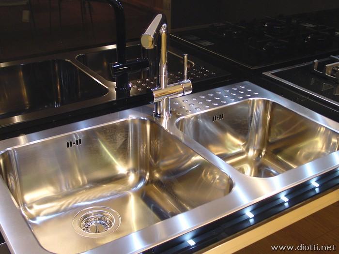 Top cucina ceramica lavello cucina vetro temperato - Top cucina in vetro ...
