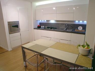 Cucina bianca con top grigio top cucina classica senza rinunciare