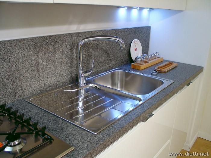 Lavandino Cucina In Acciaio.Vendita Lavandini Cucina Simple Lavello In Ceramica Blanco Idessa
