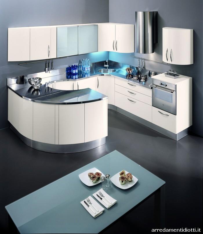 Cucine Rotonde Moderne.Cucine Moderne Rotonde Presente Casa E Interior Design