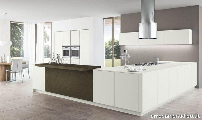 Cucina Moderna Rovere Grigio. Cucina Componibile Da Cm Rovere Grigio ...