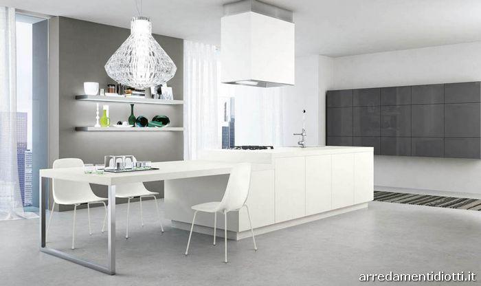cucine moderne grigio perla  triseb, Disegni interni