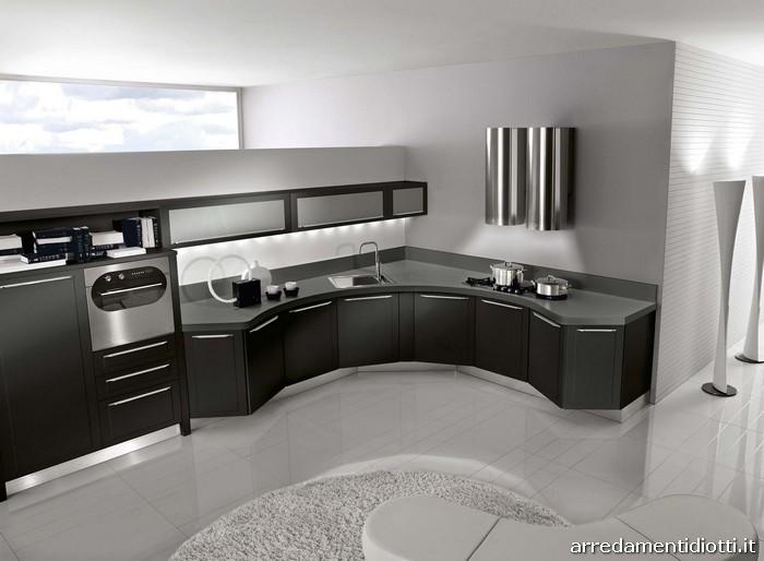 Casa moderna, roma italy: angolare cucina