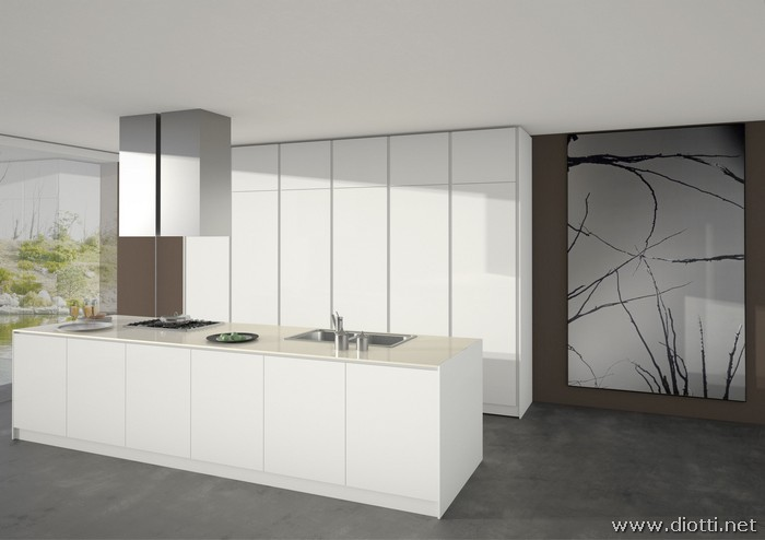 Orange kitchens by Snaidero - DIOTTI A&F Italian Furniture and ...