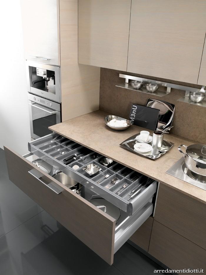 Sfera cucina moderna componibile diotti a f arredamenti - Cucina componibile moderna ...