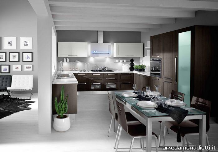 Cucine Moderne » Immagini Cucine Moderne Grigie - Ispirazioni Design dell...