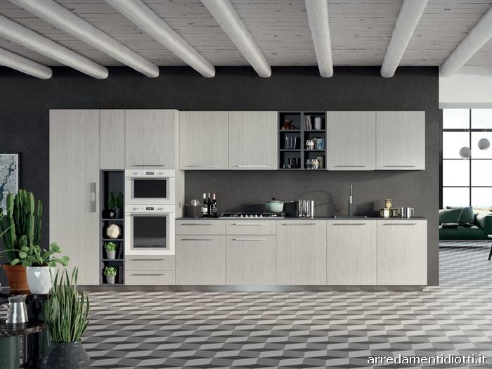 Cucine Moderne Lineare : Cucine Moderne Lineare : Spring - DIOTTI A&F ...