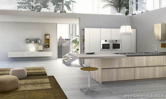 Cucina grafica design moderna componibile diotti a f for Perla arredamenti