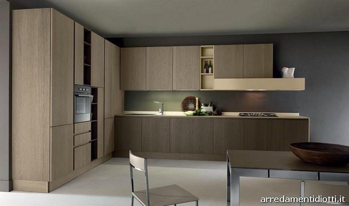 Tutto il legno utilizzato per queste cucine deriva da - Cucine in linea moderne ...