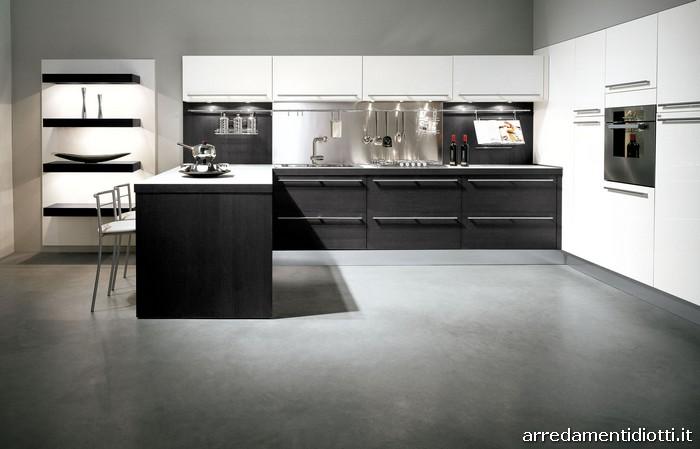 cucine moderne doppio colore  triseb, Disegni interni