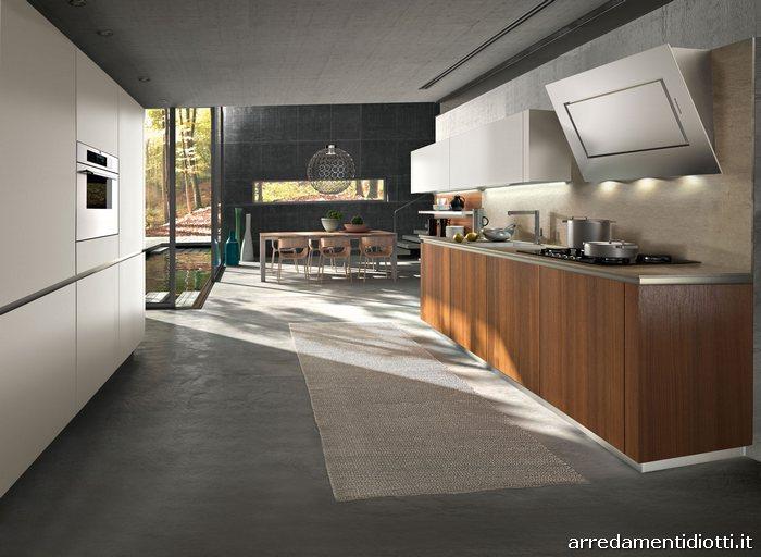 cucina way moderna bicolore - diotti a&f arredamenti - Cucine Moderne Bicolore