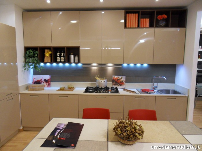 Led cucina moderna trendy interno di cucina moderna with for Luci led cucina